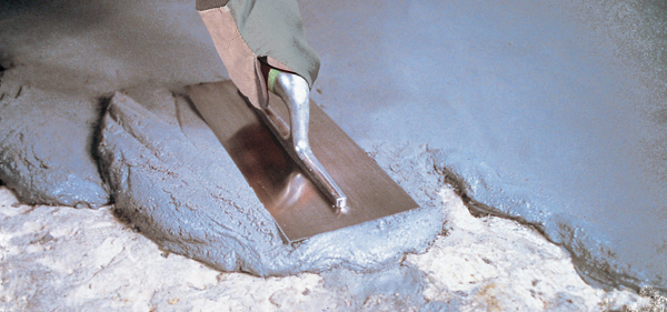 Repairing floors in cold conditions