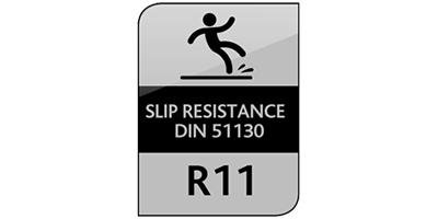Slip resistance DIN 51130