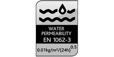 Water Permeability EN 1062-3