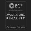BCF customer service award 2016